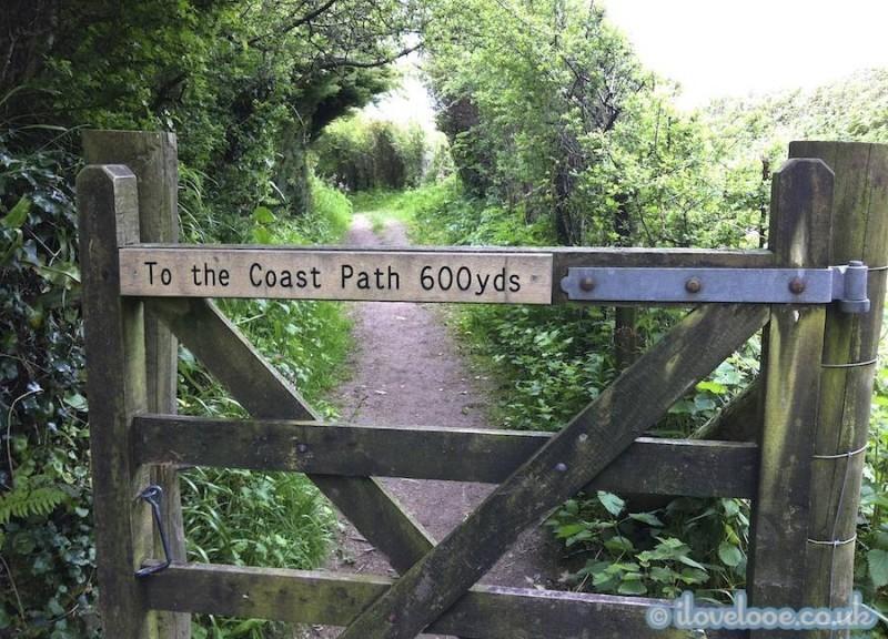 South West Coastal Path this way