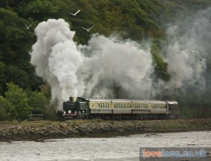 Looe steam train