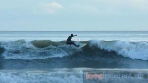 Surfing in Looe