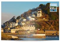 Looe Banjo Pier postcard