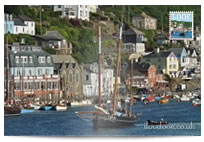 Looe Lugger Regatta postcard