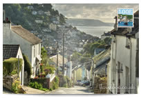 West Looe Hill postcard