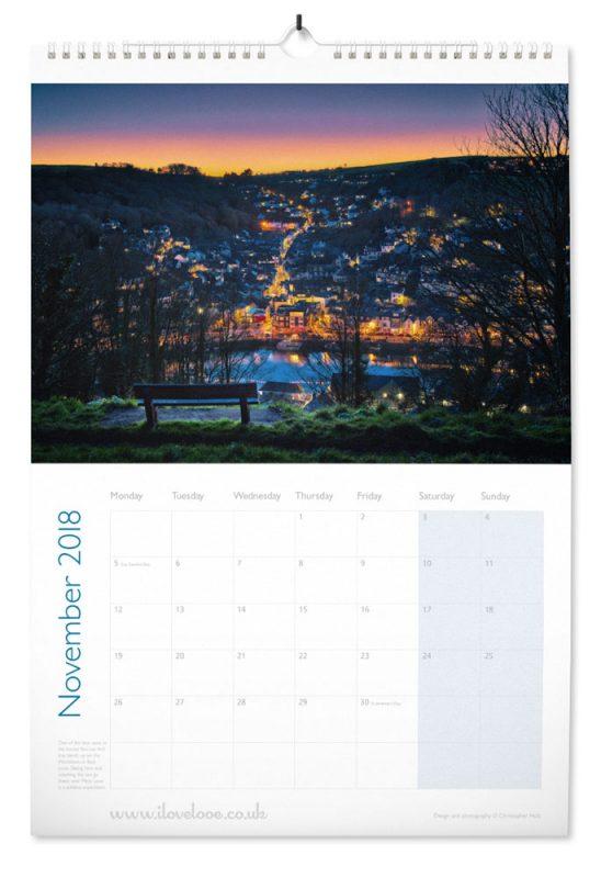 November Looe Calendar 2018