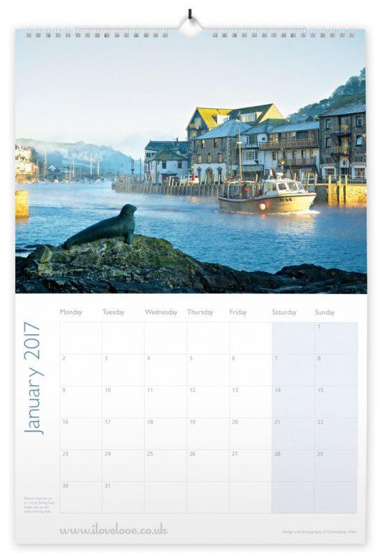 looe calendar 2017 January