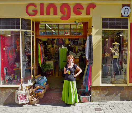 Ginger in Looe
