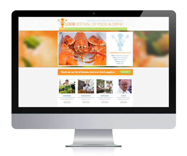 Looe Food Festival Website