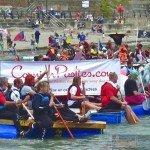 Looe Raft Race 2012 - 2