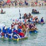Looe Raft Race 2013 - 14