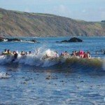New Years Day Swim Looe 2012 - 11