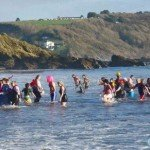 New Years Day Swim Looe 2012 - 13