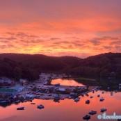 Looe September Sunset