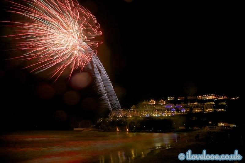 Looe 2013 Children's Fireworks