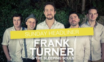 Frank Turner at Looe Music Festival 2014