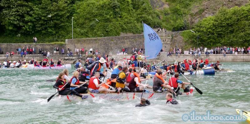 Looe Raft Race 2014