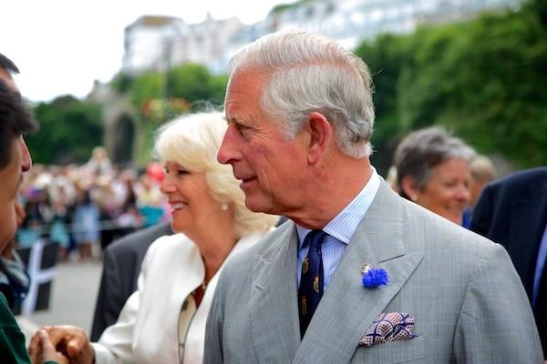Prince Charles Camilla Looe July 2014