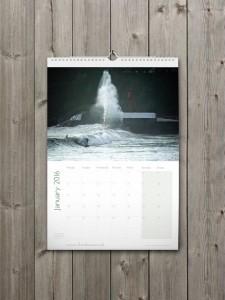Looe Calendar 2016 - January