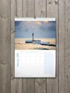 Looe Calendar 2016 - February