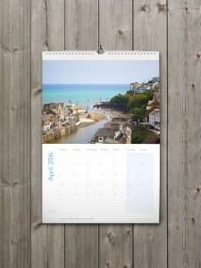 Looe Calendar 2016 - April