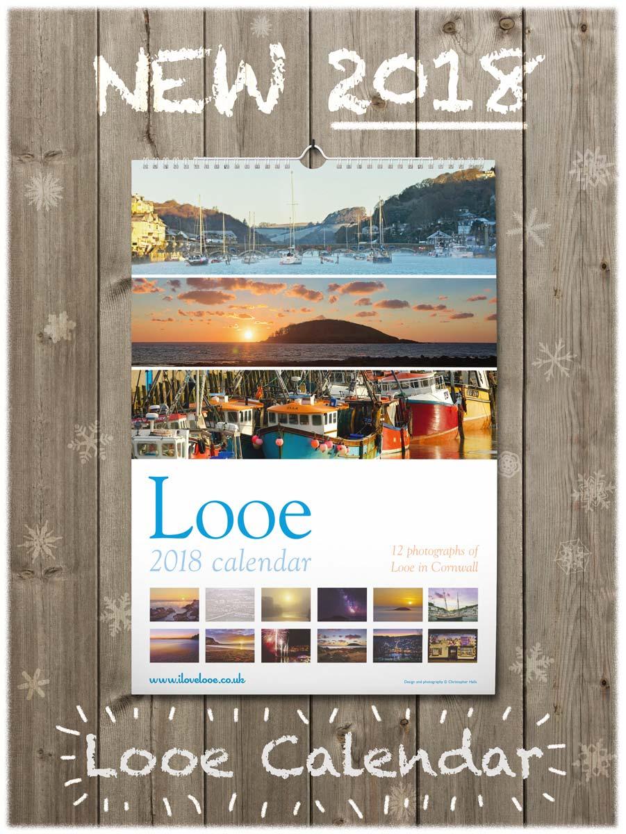 Looe 2018 Calendar