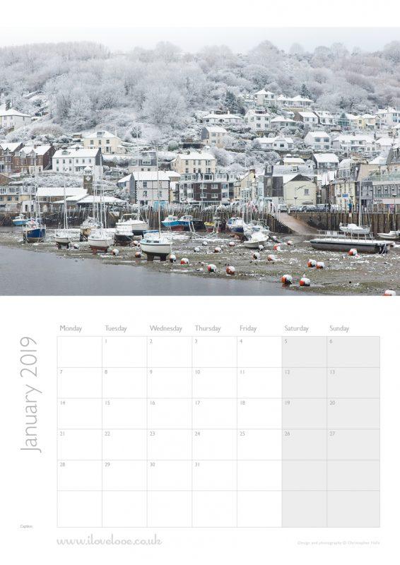 January Looe Calendar 2019
