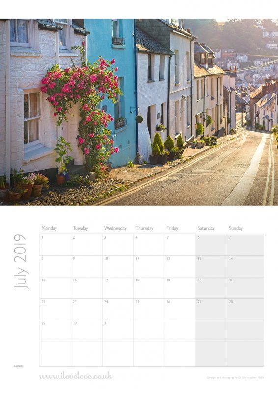 July Looe Calendar 2019